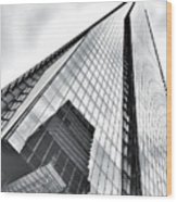 The Shard Building Wood Print