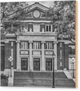 The Sheldon Concert Hall Bnw 7r2_dsc3020_11242017 Wood Print