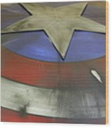 The Shield Wood Print