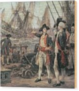 The Ship That Sank The Victory Wood Print