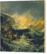The Shipwreck Of The Minotaur Wood Print