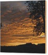 The Shortest Day Sunrise Wood Print