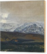 The Sierra De Guadarrama Wood Print