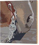The Silver Bit Wood Print