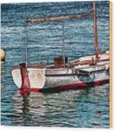 The Simple Life Mykonos Wood Print