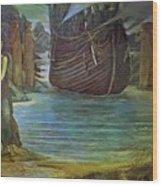 The Sirens Wood Print