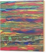 The Sky  Wood Print