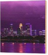 The Sky Was So Purple...  Wood Print