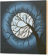 The Sleeping Wood Print by Angela Hansen