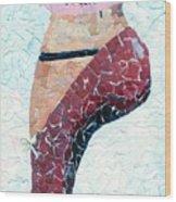 The Slipper Wood Print
