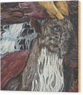 Smirk Wood Print