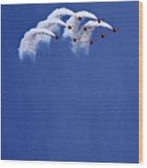 The Smoke Umbrella Wood Print