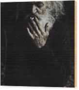 The Smoker Wood Print