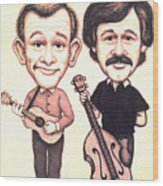 The Smothers Brothers Wood Print
