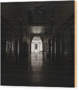 The Snell Arcade Wood Print
