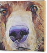 The Sniffer Wood Print