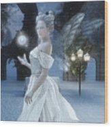 The Snow Fairy Wood Print by Melissa Krauss