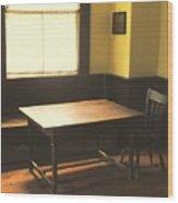 The Snug Wood Print