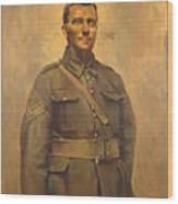 The Soldier Wood Print