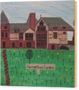 The Sonnenburg Mansion Wood Print