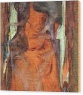 The Sorceress Wood Print