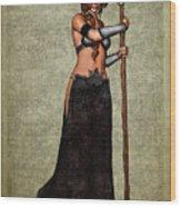 The Sorceress Mage Wood Print