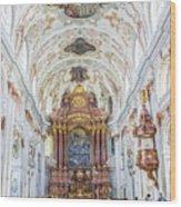 Lucerne's Jesuit Church  Wood Print