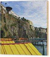 The Sorrento Coast Wood Print