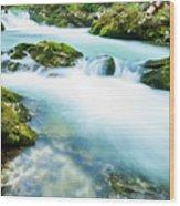 The Soteska Vintgar Gorge, Gorje, Near Bled, Slovenia Wood Print
