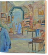 The Souk Wood Print