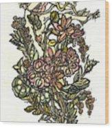 The Soul Of Wildflowers Wood Print