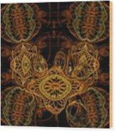 The Soul Talkers Wood Print