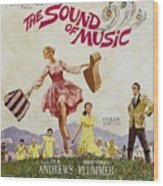 The Sound Of Music, Poster Art, Julie Wood Print