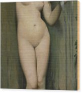 The Source Wood Print by Ingres