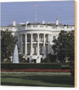 The South Side Of The White House Wood Print