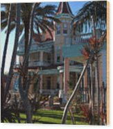 The Southernmost Hotel  Wood Print