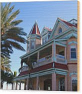 The Southernmost House In Key West Wood Print