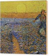 The Sower Wood Print