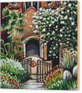 The Spanish Gardens Wood Print