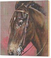 The Spanish Mule Wood Print