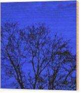 The Sparkle Tree Wood Print