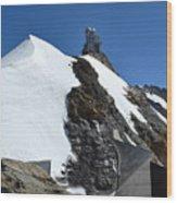 The Sphinx At Jungfrau Wood Print