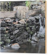 The Spillway Wood Print