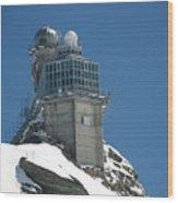 The Spinx Jungfraujoch Wood Print