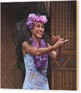 The Spirit Of Aloha Wood Print