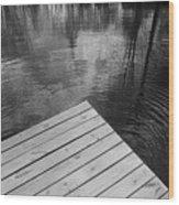 The Spirits Of Kripplebush Pond Wood Print