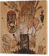 The Spirit Of Survival Wood Print