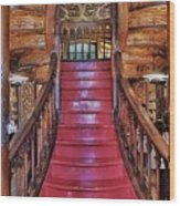 The Splendor Of Stairs Wood Print