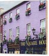 The Square House  Athlone Ireland Wood Print