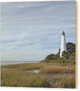 The St Marks Lighthouse Wood Print